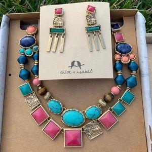 🥳HP💗 2 piece Chloe + Isabel Maya Jewelry Set